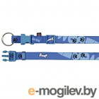 Trixie Modern Art Collar Woof 15219 �S-S/Blue