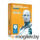 ESET NOD32 Smart Security Family ���������,  �������� �� 1 ����, �� 5��, BOX (NOD32-ESM-NS(BOX)-1-5)